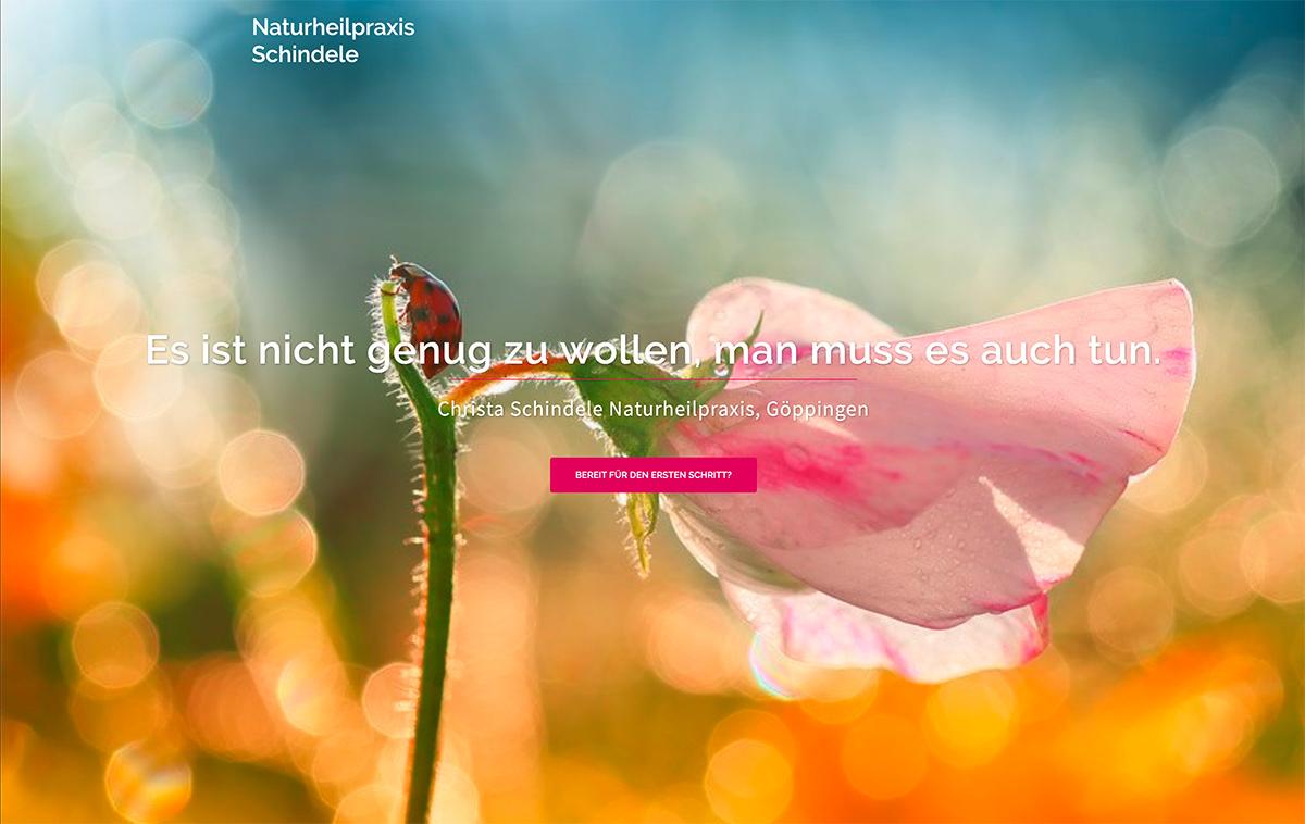 Homepage Heilpraktiker Christa Schindele